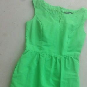 Ellen Tracy Kelly Green dress 4